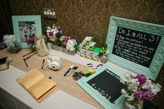 Guests had the option of signing the guestbook, bookmarking their favorite bible quote or taking a pic with a message for the bride and groom! by Brandon Chesbro http://www.thebridelink.com/blog/2013/06/02/southern-country-wedding-in-nashville-tn/