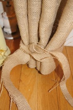 how to make kitchen curtains without sewing