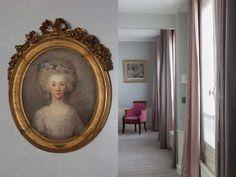 Hotel with History - Saint Germain des Prés Paris - Hotel des Saints Pères - Esprit de France - #espritdefrance Paris Hotels, Saints, Photos, Mirror, Frame, Home Decor, Viajes, Picture Frame, Pictures