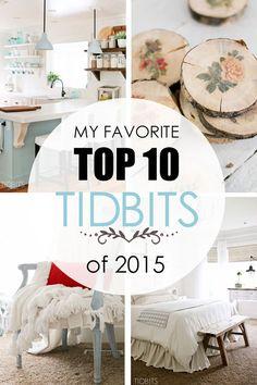 My favorite top 10 T