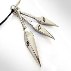 Naruto Kunai Necklace