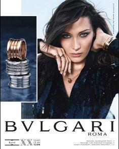 Bvlgari Roma, Bella Hadid, Editorial Fashion, Photoshoot, Movie Posters, Jewellery, Jewels, Photo Shoot, Film Poster