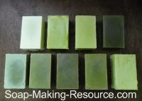 Spirulina is a wonderful natural soap colorant that will give your product a light to dark bluish green hue.