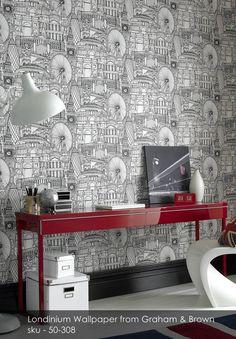 Londinium wallpaper from Graham