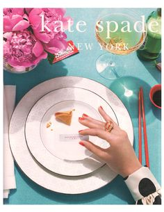 # 1 reason I want to get hitched- Kate Spade china.
