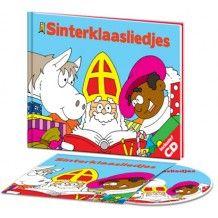 Sinterklaasliedjes cd met boekje