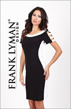 Black & White | Dress | Transeasonal  #FrankLyman