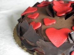 Torta al cacao e Buon San Valentino!