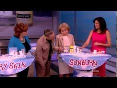 Dr. Doris Day discusses Heliocare as part of her Summer Skin Tips on ABC's The View.
