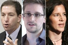 Positives in all the Horrific NEWS in 2014 with wars + dystopia everywhere: We're living in the GOLDEN AGE of Investigative JOURNALISM • Salon article 2014-08-31 by Anya Schiffrin • depicted: Glenn Greenwald (Am journalist lawyer (1st Snowden reporter) / Edward Snowden / Laura Poitras (Am. documentary film dir in Berlin) • Newspapers shrinking vs blockbuster real news exposing corruption ww as journalists worldwide are taking risks again...watchdog org. + philanthropists etc.