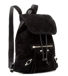 mytheresa.com - Classic Traveller suede backpack - Luxury Fashion for Women / Designer clothing, shoes, bags