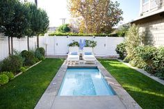 Small Backyard Pool Landscaping Ideas Popular Minimalist Diy Backyard Landscaping With Small Pools Ideas On A Budget Pools For Small Yards, Small Swimming Pools, Swimming Pool Designs, Big Pools, Small Backyard Design, Backyard Pool Designs, Small Backyard Landscaping, Landscaping Ideas, Pool Backyard
