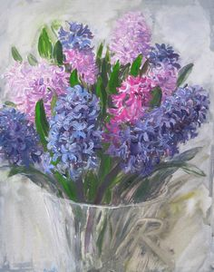 Sketch Hyacinths (2013)  ©Asta Rudminaite 2013