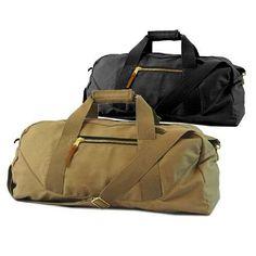 f07400e04ea8 Getaways Duffel Bag With Wide Shoulder Strap Canvas Travel Bag