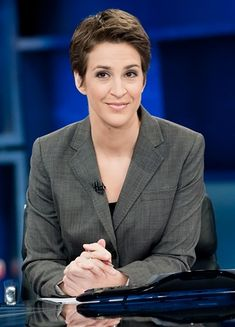 Rachel Maddow: MSNBC's Big Star, Thoughtful & Thought-Provoking Progressive Journalist Who Cares About All of Us and is trying Her Best to do Her Job, Which is to tell Us the Truth about What's going on in Politics and America, in general.