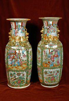 China Porcelain, 19th Century, Vase, Antiques, Home Decor, Antiquities, Antique, Decoration Home, Room Decor