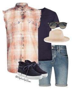 """""""Life is Eazi"""" by stylesbyglam on Polyvore featuring Topman, Casbia, men's fashion and menswear"""