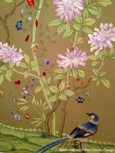 embroidered wallpaper | Fromental embroidered wallpaper / Papercraft - Juxtapost