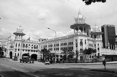 The main train station in Kuala Lumpur