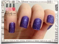 OPI Liquid Sand 'Can't let go'