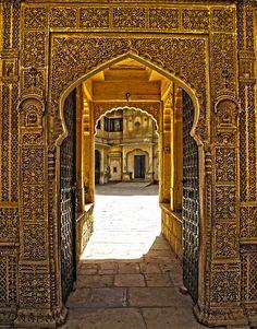 Carved in Stone . Jaisalmer, Rajasthan