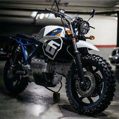 BMW K75 by @thefoundrymc #scrambler #bmw #bmwk75 #bmw #adventurebike #advrider #adventureattack