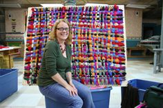 making a giant loom - Google Search