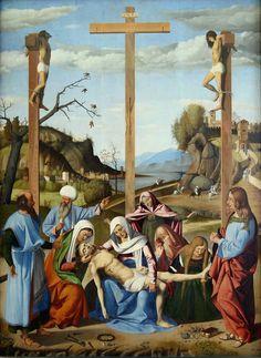 Marco Basaiti ~ The Lamentation Over the Dead Christ ~ (1508)