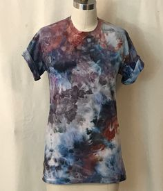 A personal favorite from my Etsy shop https://www.etsy.com/listing/289465177/abstract-mineral-hand-painted-tee-size-s