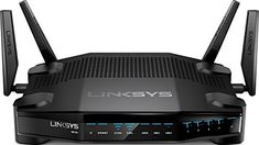 Shop Linksys Dual-Band Wi-Fi Gaming Router with Killer Prioritization Engine at Best Buy. Find low everyday prices and buy online for delivery or in-store pick-up. Best Gaming Router, Router Wifi, Best Router, Modem Router, Wi Fi, Port Forwarding, Lan Party, Data Processing, Alienware