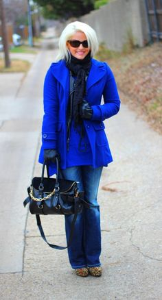 Cobalt Winter Coat