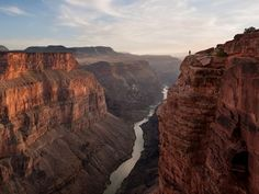 Stunning: The Grand Canyon is likely to be among the favourites in the online contest to find the new seven wonders of the natural world Seven Wonders, Colorado River, Lake District, Natural Wonders, Natural World, Wonders Of The World, Panama, National Parks, Landscape