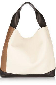 Marni Pod color-block leather shoulder bag | NET-A-PORTER