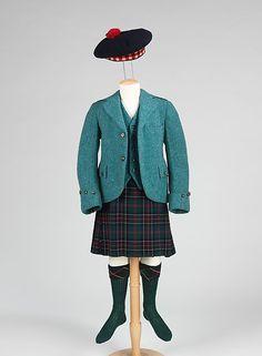 Ensemble Designer: R. W. Forsyth, Ltd. Designer: Dorothea Knitting Mills, Limited Date: 1944–46 Culture: Scottish Medium: wool, metal, leather