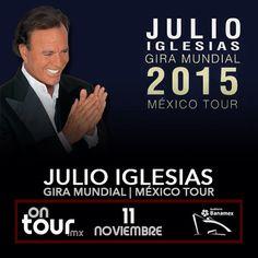 #JulioIglesias en Monterrey #ONTOURmx
