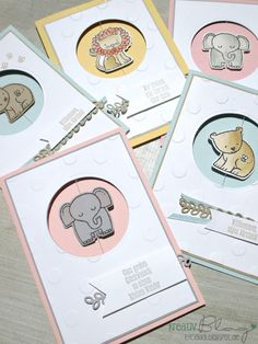Baby Cards For the last time, the Window Spinner Card with the cute lion. The basic map … Spinner Card, Dou Dou, Karten Diy, Stampin Up Catalog, Kids Birthday Cards, New Baby Cards, Baby Shower Cards, Animal Cards, Handmade Baby