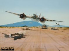 Beaufighter - Raid on Borizo - Tribute to 272 Squadron by Ivan Berryman. BFD