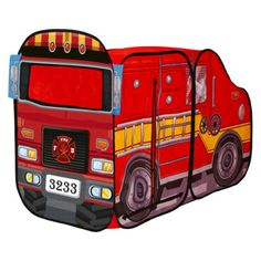 Big Red Fire Engine Playhut
