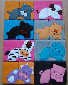 Puzzle animalitos