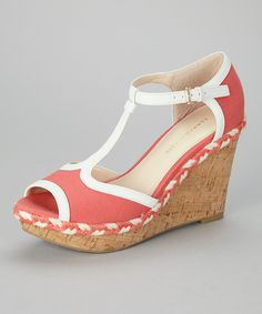 Salmon Veanna Wedge Sandal   Daily deals for moms, babies and kids