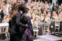 Jared Leto Couldn't Keep His Eyes Off Lupita Nyong'o at the SAG Awards