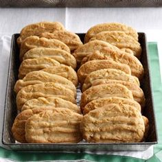 Coconut Washboards Cookies Recipe from Taste of Home -- shared by Tommie Sue Shaw of McAlester, Oklahoma