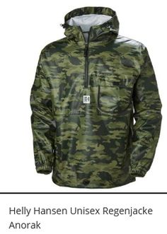 Helly Hansen Pu Anorak Rain Jacket Green S Kai, Im Online, Shops, Helly Hansen, Green Jacket, Partner, Windbreaker, Street Wear, Raincoat
