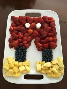 mickey mouse first birthday party food ideas fruit tray