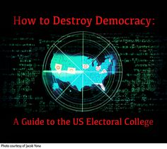 02 Sep '16: How to Destroy Democracy:  A Guide to the US Electoral College | John Laurits