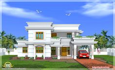 Modern House Plans | modern-house-plans-with-courtyard-modern-two-story-4-bedroom-house ...
