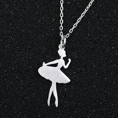Ballerina Dancers Chain Necklaces – uShopnow store