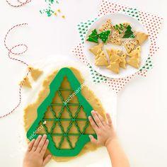 Forma do wykrawania ciastek - choinka | LEKUE PUZZLE