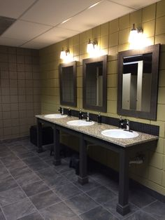 Journey a church lobby kathy ann abell interiors san for Church restroom design