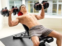 So you want to build big and powerful chest muscles? Huge big pectoral muscles (pecs) or chest muscles that command respect and adoration? Best Adjustable Dumbbells, Adjustable Dumbbell Set, Adjustable Weight Bench, Adjustable Weights, Weight Training Programs, Strength Training Program, Gym Setup, Stress, Self Confidence